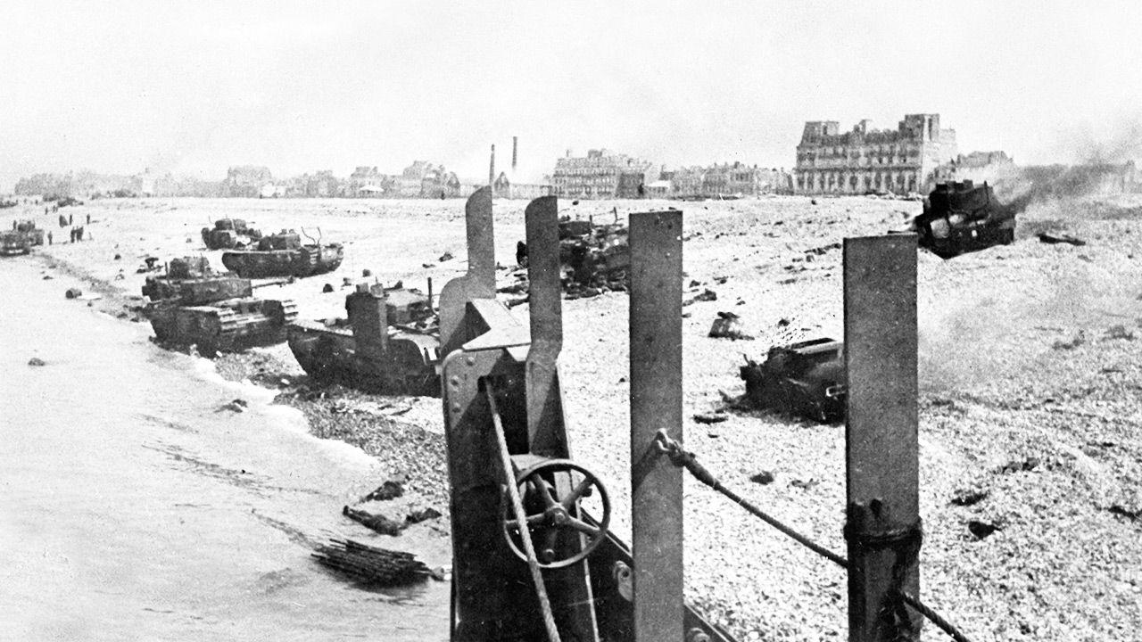 Rajd na Dieppe pozwolił wyciągnąć odpowiednie wnioski (fot. ullstein bild/ullstein bild via Getty Images)