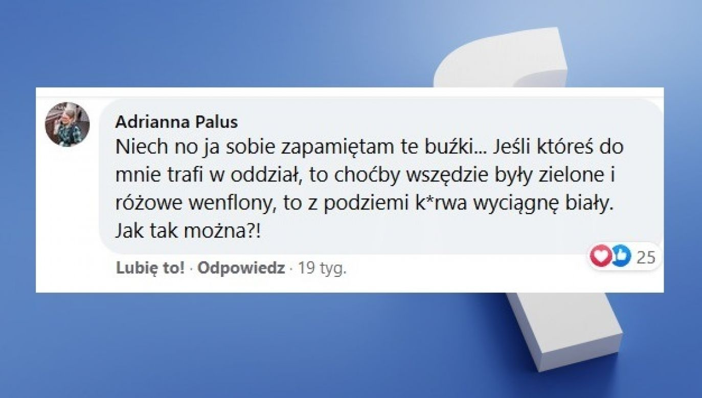 Kandydatka SLD chce mścić się na pacjentkach, bo bronią życia (fot. FB/TVP3 Poznań)