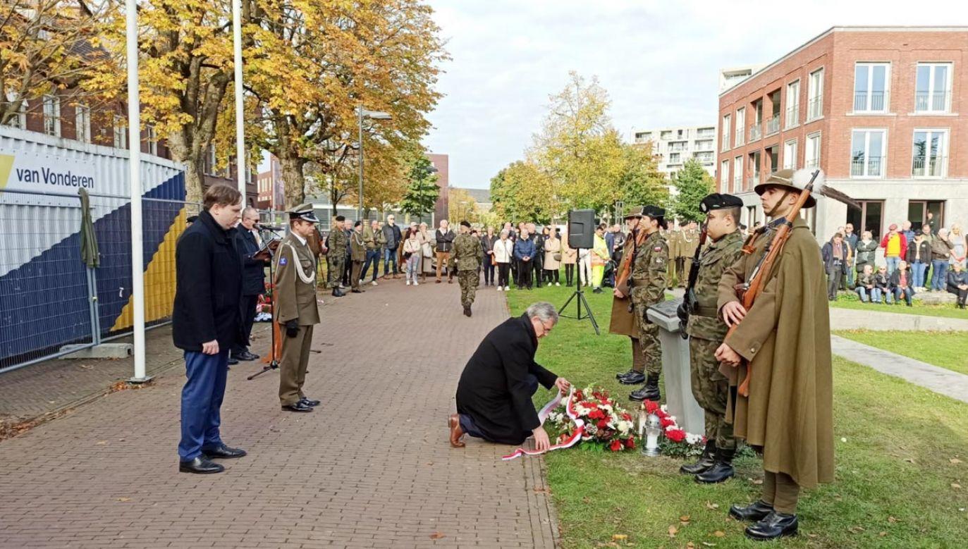 Uroczystości rocznicowe w Bredzie (fot. PLinNederland)