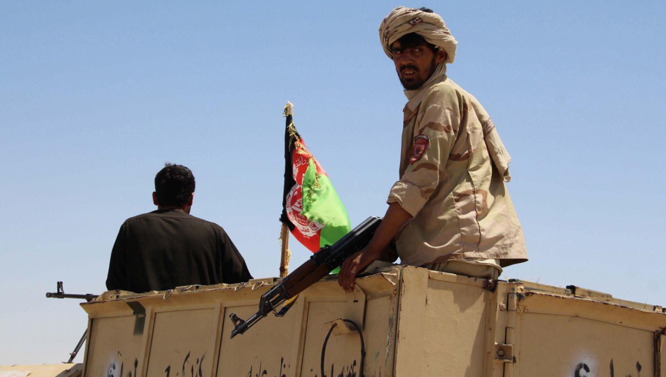 Talibowie zostali w lutym 2003 r. oficjalnie uznani przez rosyjski Sąd Najwyższy za organizację terrorystyczną (fot. PAP/EPA/WATAN YAR)