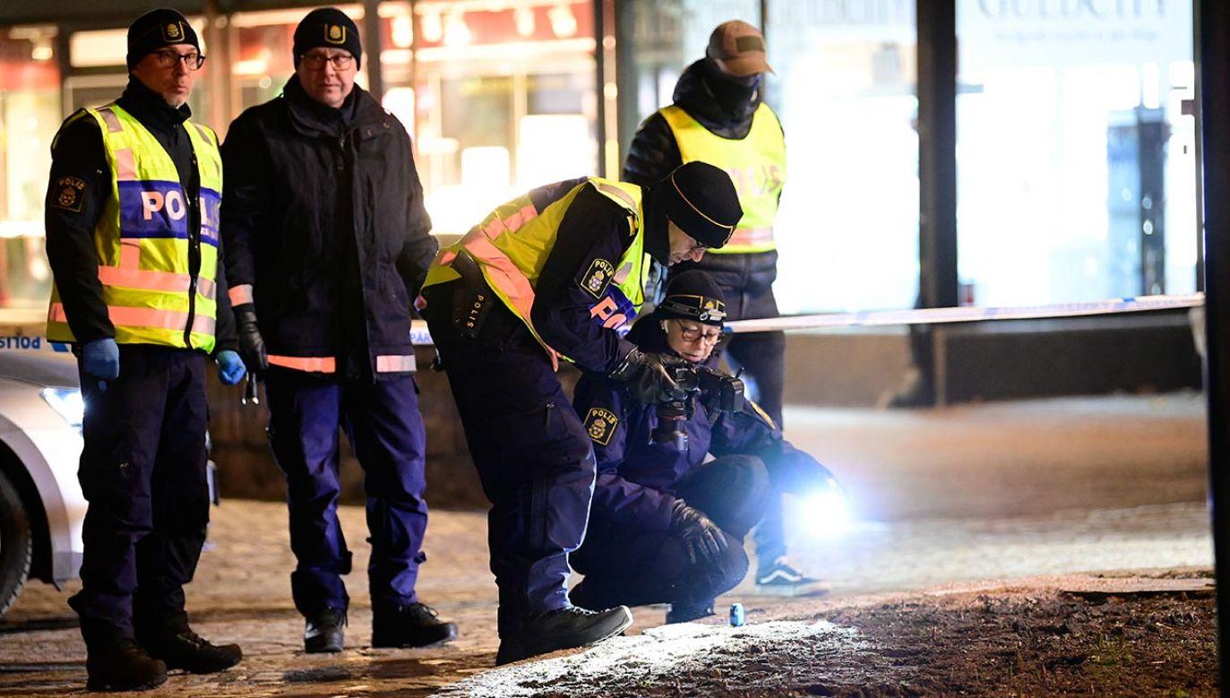 Trzy zaatakowane osoby walczą o życie w szpitalu (fot. PAP/EPA/Mikael Fritzon)