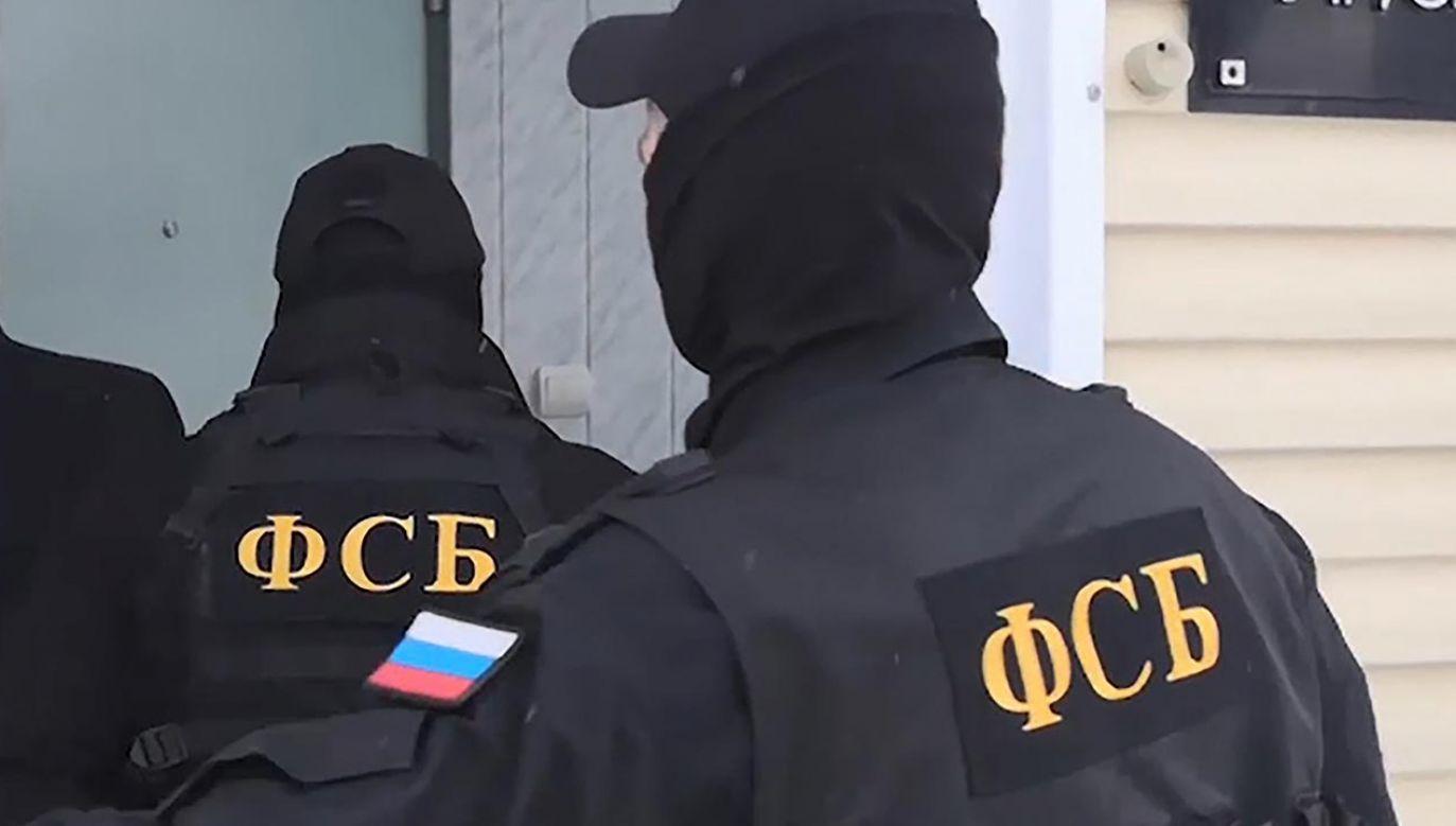 Dyplomacie zarzucono próbę pozyskania poufnych informacji (fot. Russian Federal Security Service\TASS via Getty Images)