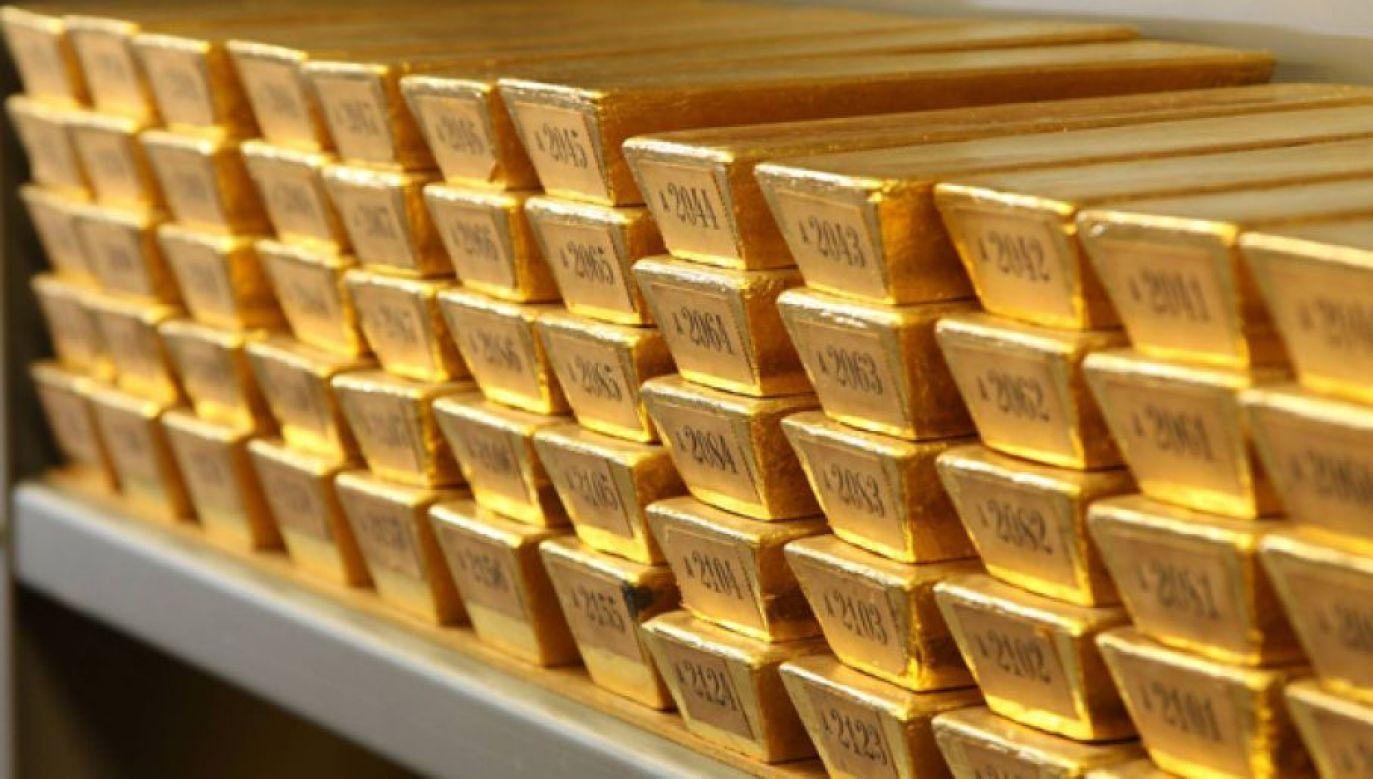 Portugalia nie zamierza sprzedawać swojego złota (fot. FB/Deutsche Bundesbank, zdjęcie ilustracyjne)