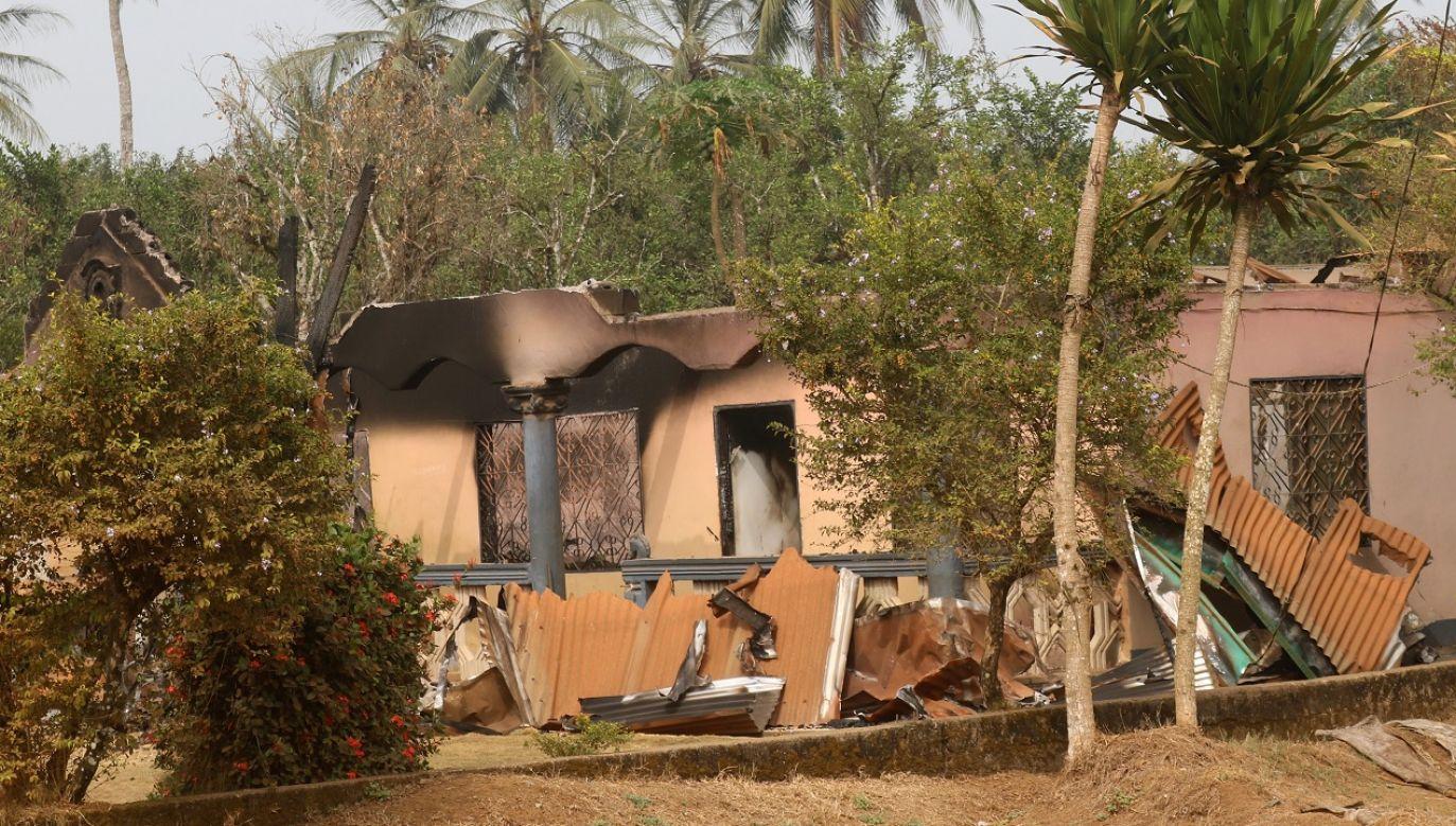 Napastnicy otworzyli ogień do dzieci w klasie (fot. Reuters/Josiane Chemou, zdj. ilustr.)