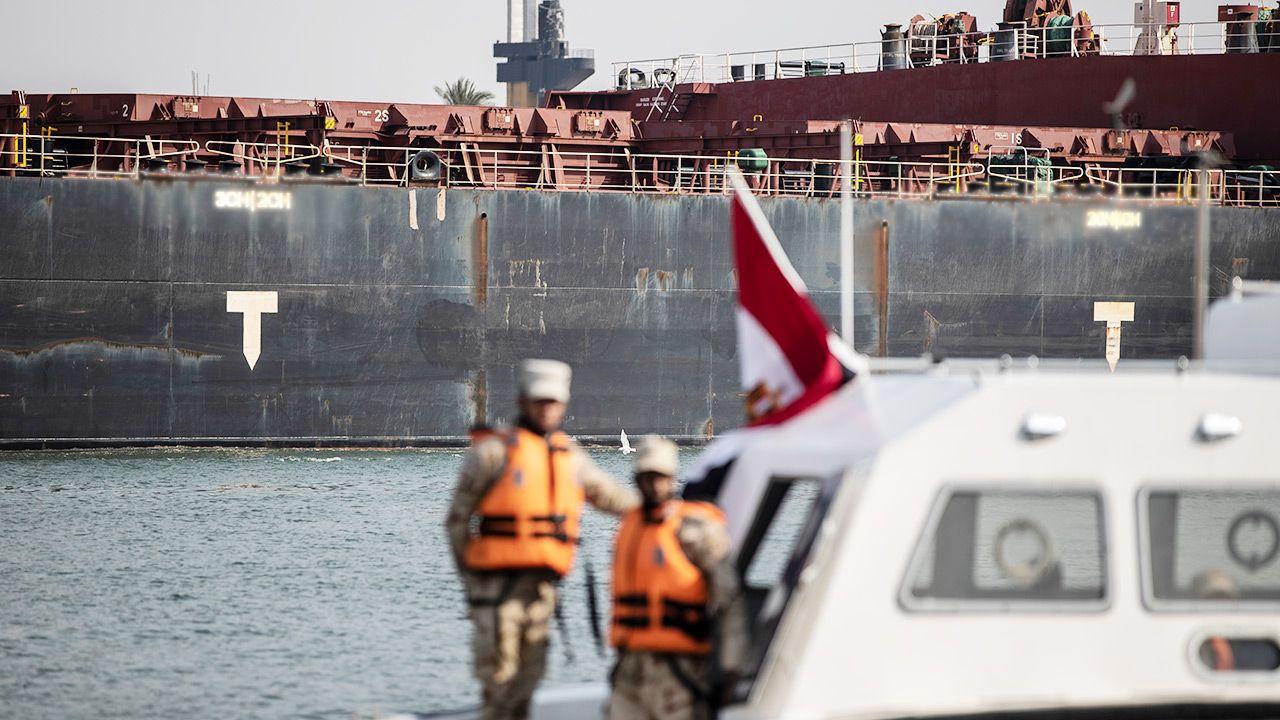Syryjczyk opuścił statek w kwietniu b.r. (fot. Mahmoud Khaled/Getty Images)