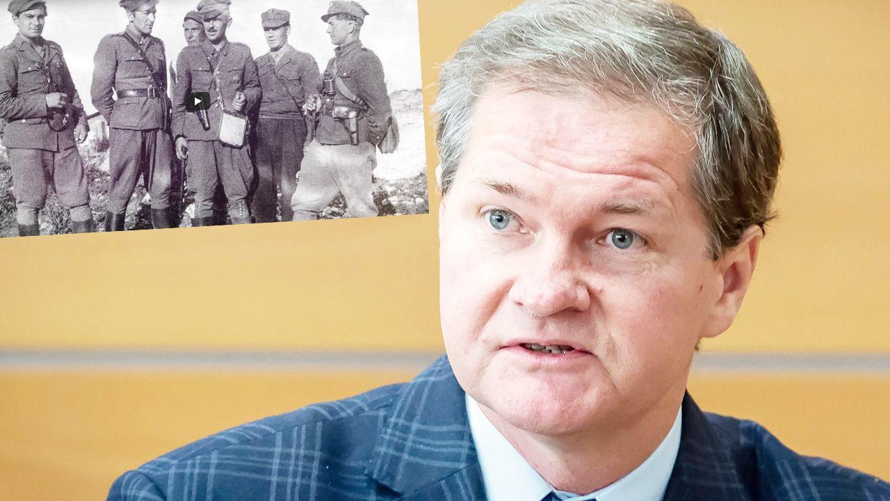 Prof. Grzegorz Kucharczyk o Żołnierzach Niezłomnych (fot. IPN; PAP/Tytus Żmijewski)