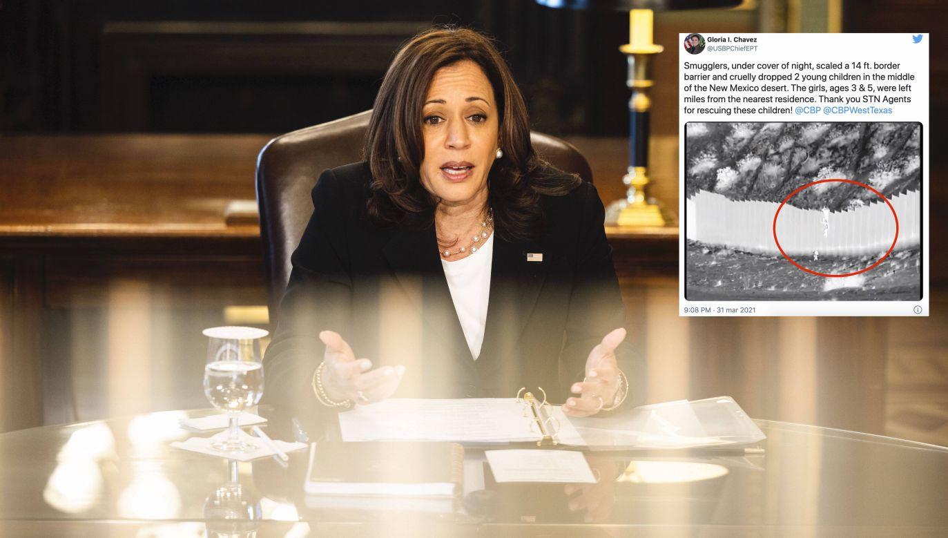 Wiceprezydent USA Kamala Harris (fot. EPA/JIM LO SCALZO /PAP)