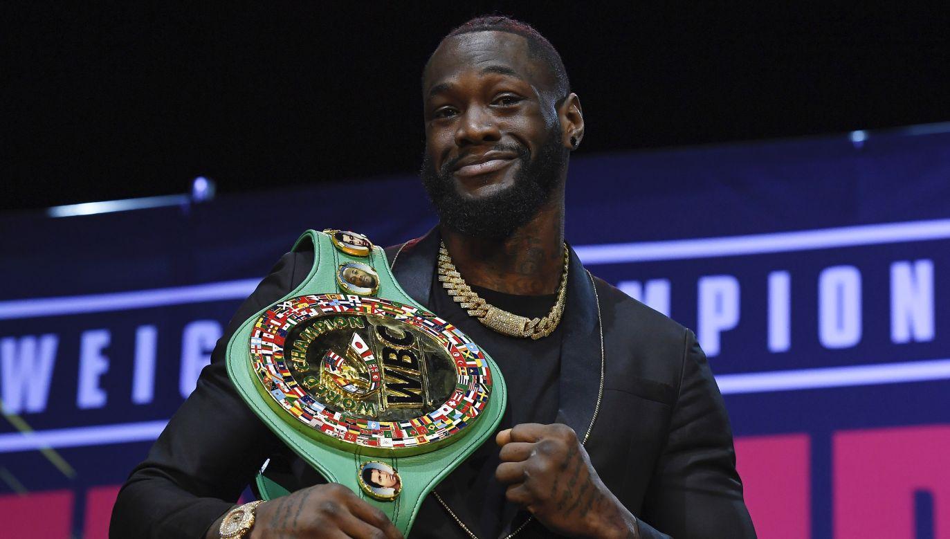 Deontay Wilder pozostaje niepokonany na zawodowym ringu (fot. Getty Images)