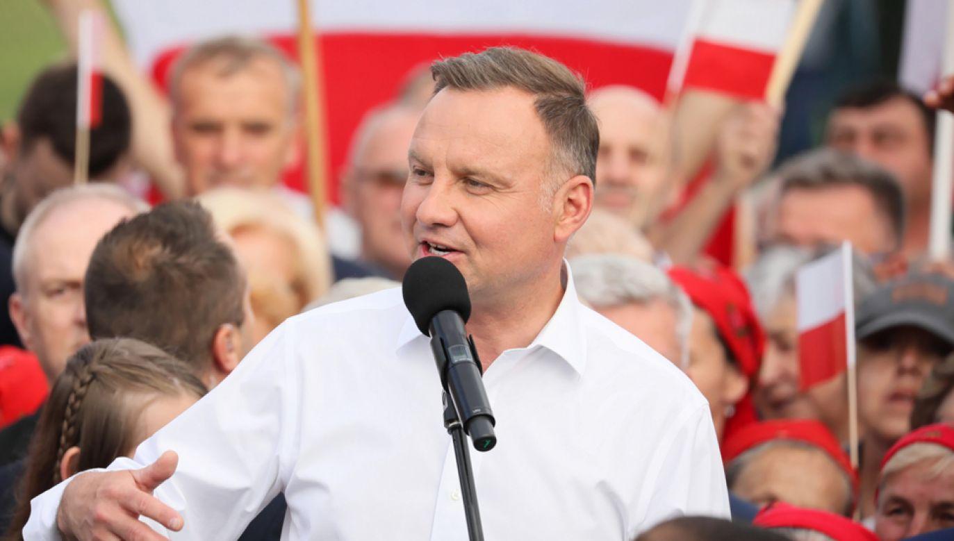 Prezydent Andrzej Duda (fot. PAP/Leszek Szymański)