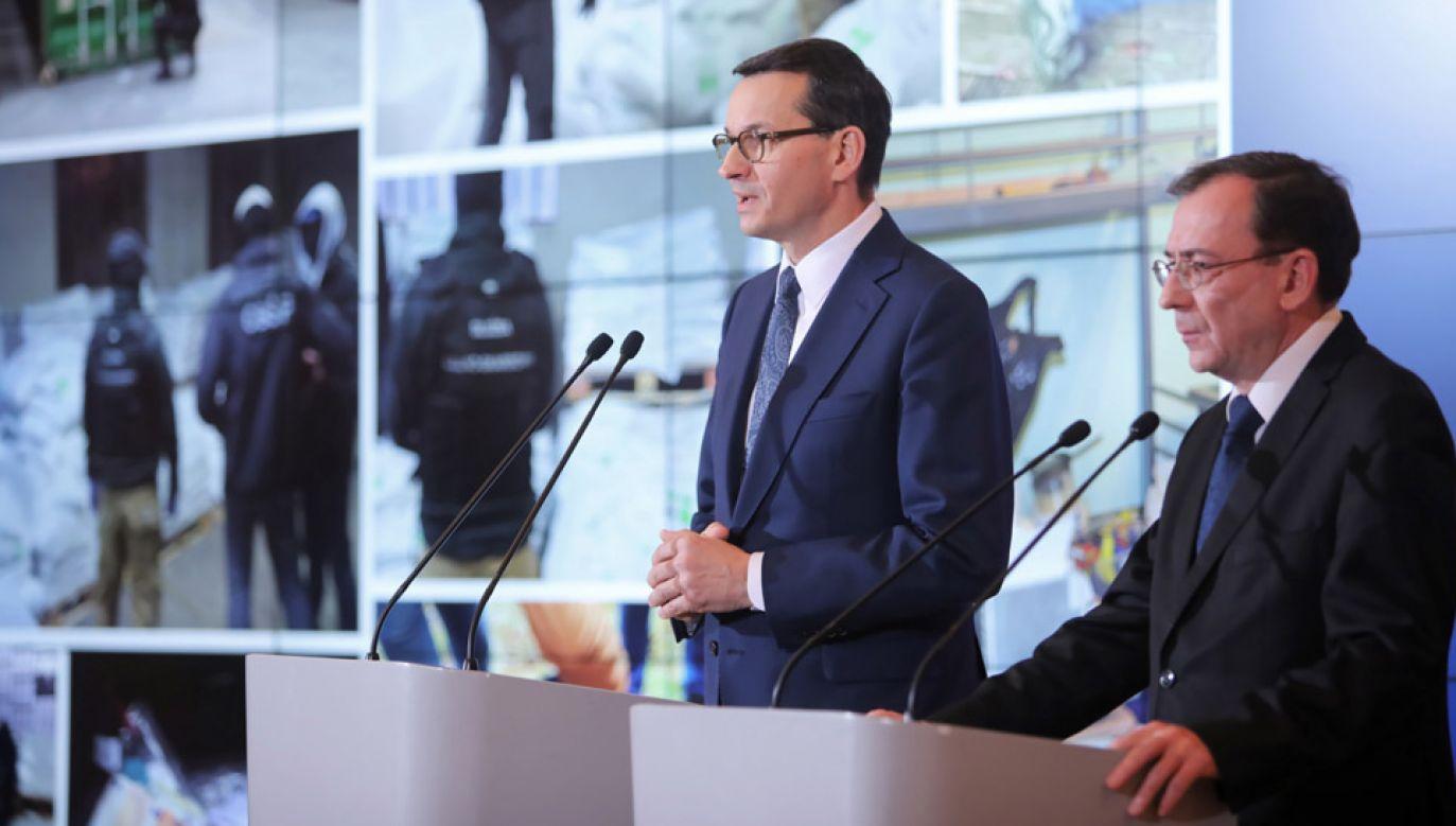 Udaremniono największy przemyt narkotyków w ciągu ostatnich 30 lat (fot.PAP/Wojciech Olkuśnik)