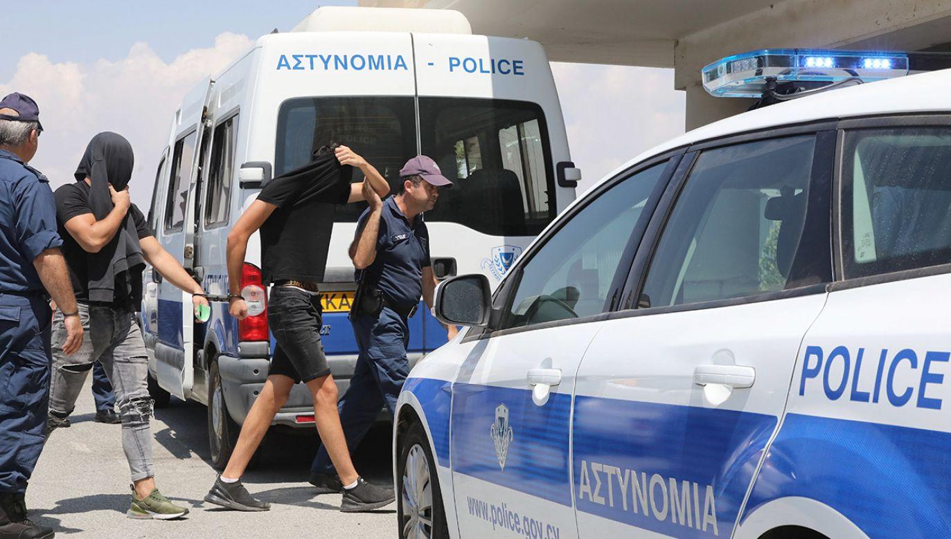 Podejrzani, obywatele Izraela, mają od 15 do 18 lat – potwierdził izraelski konsul w Nikozji (fot. PAP/EPA/KATIA CHRISTODOULOU)