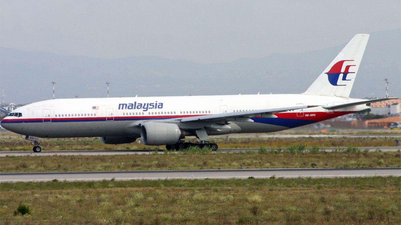 W katastrofie boeinga 777 zginęło niemal 300 osób (fot. Wikipedia/Alan Wilson)