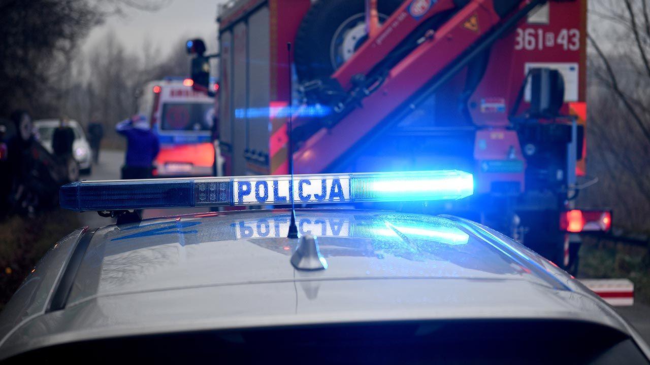 Do wypadku doszło po godz. 19 w Strzebielinie (fot. PAP/Darek Delmanowicz)