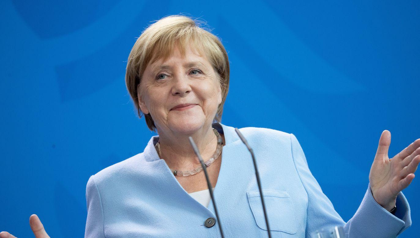 Kanclerz Niemiec Angela Merkel (fot. PAP/EPA/HAYOUNG JEON)