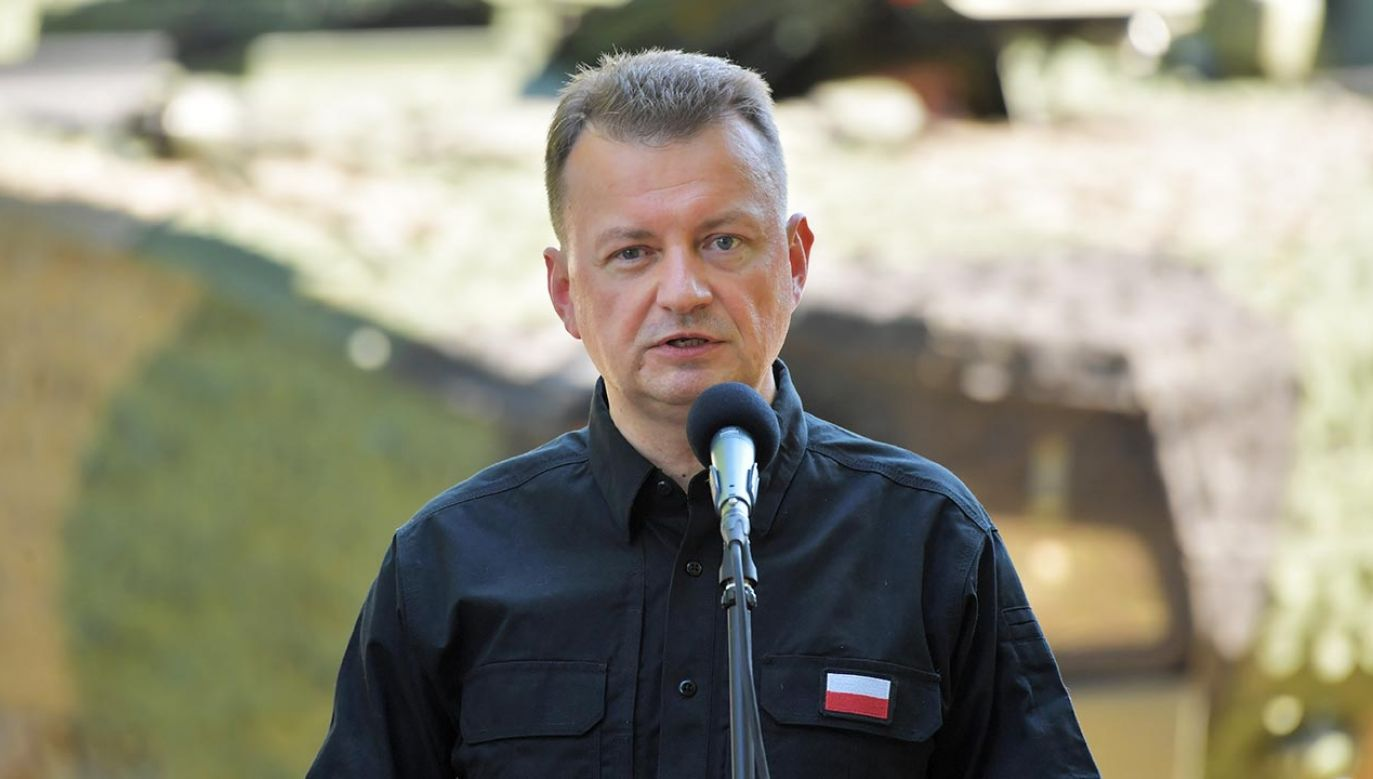 Szef MON Mariusz Błaszczak (fot. PAP/Przemysław Piątkowski)