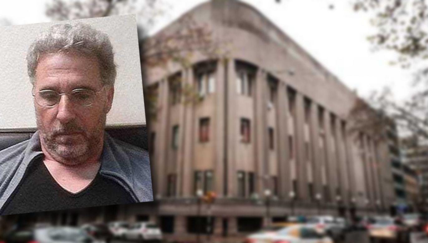 Rocco Morabito uciekł przez dach więzienia w Montevideo (fot. PAP/EPA/Raul Martinez)