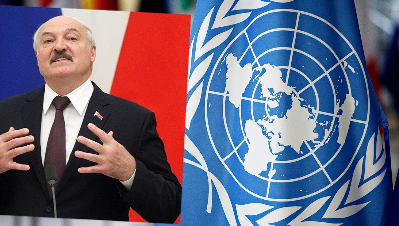 Na forum ONZ mówiono m.in. o wykorzystywaniu migrantów przez Białoruś ( fot. Mikhail Svetlov/Getty Images; Shutterstock)