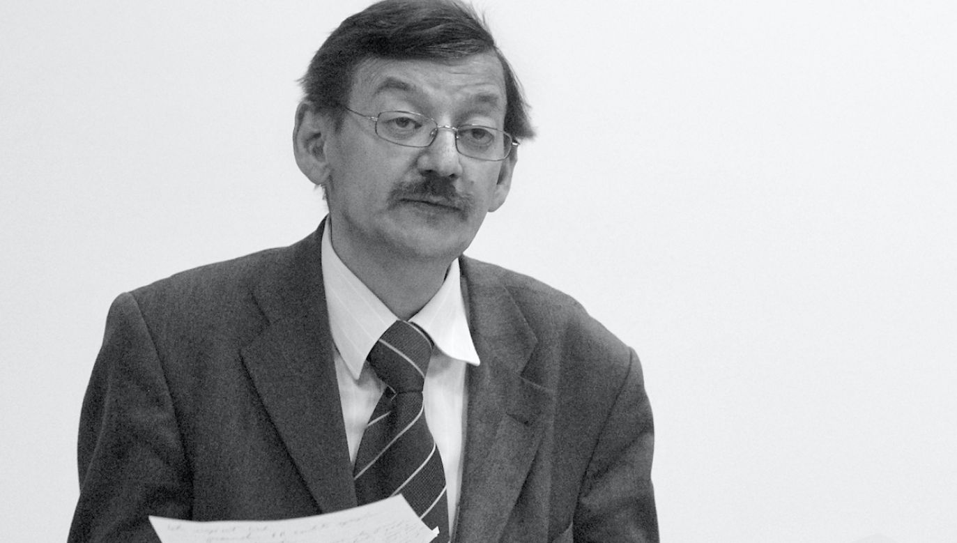 Jerzy Targalski zmarł w niedzielę (fot. Maciej Biedrzycki/Forum)