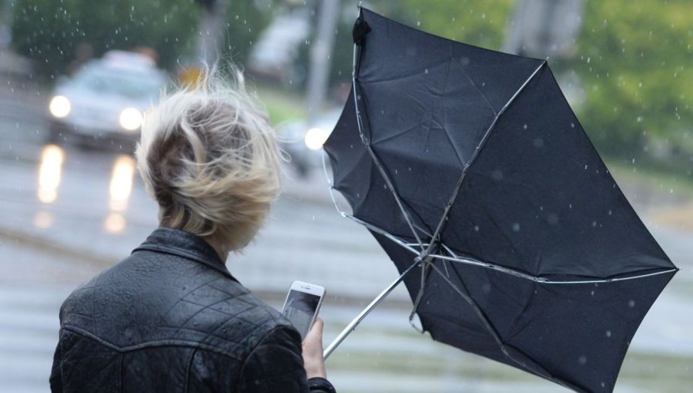 Mieszkańcy południa kraju powinni zachować ostrożność (fot. TVP)