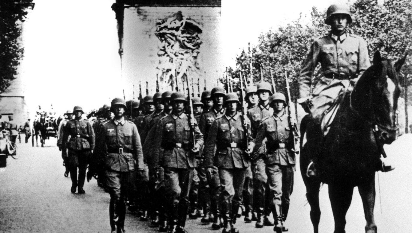 Karl Muenter należał do 12. Dywizji Pancernej SS Hitlerjugend, która odpowiada za zamordowanie blisko 90 osób we wsi Ascq w północnej Francji (fot. Art Media/Print Collector/Getty Images)