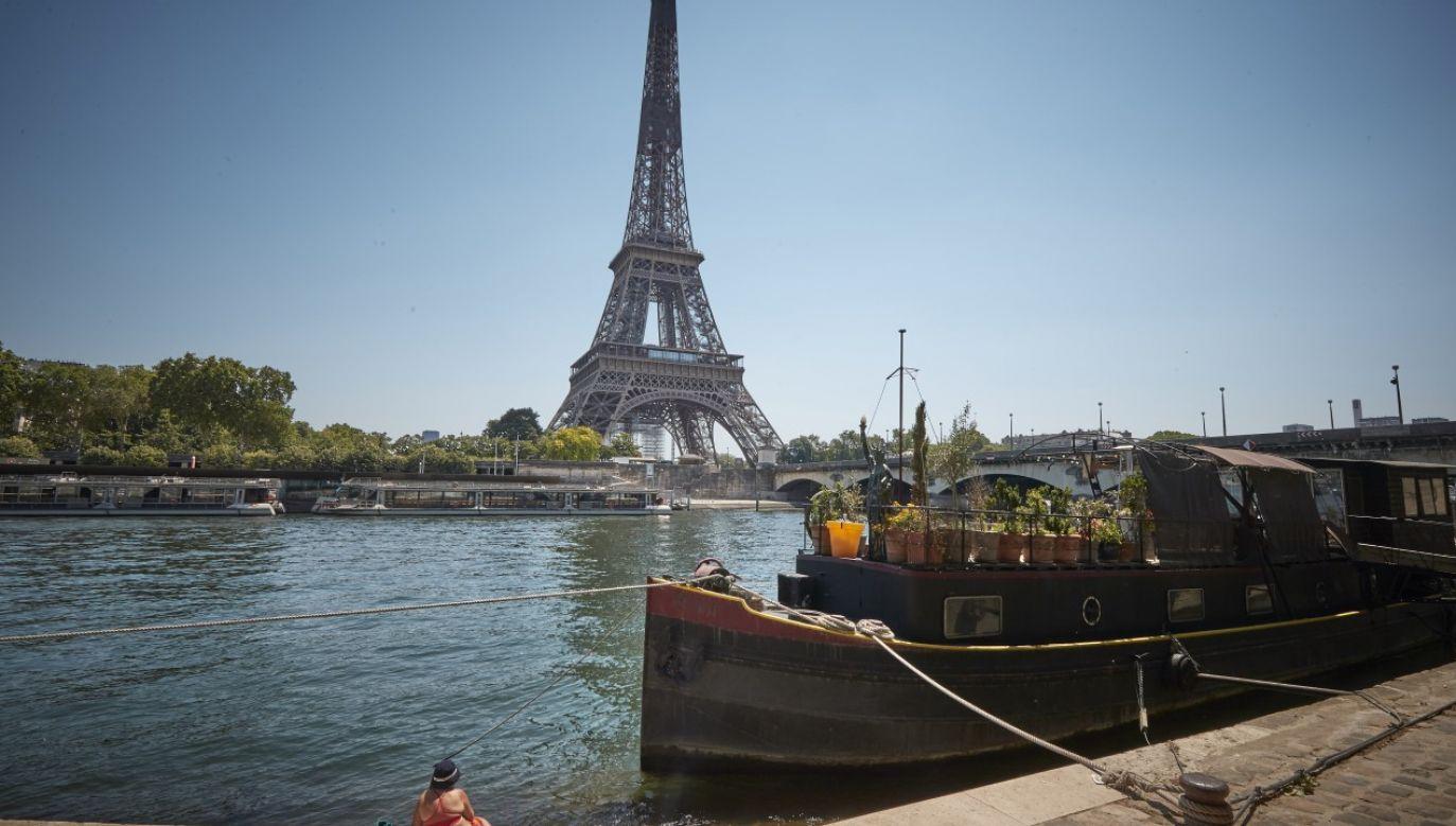 Fale upałów kilkukrotnie nawiedzały Francję w 2020 r.(fot. Kiran Ridley/Getty Images)