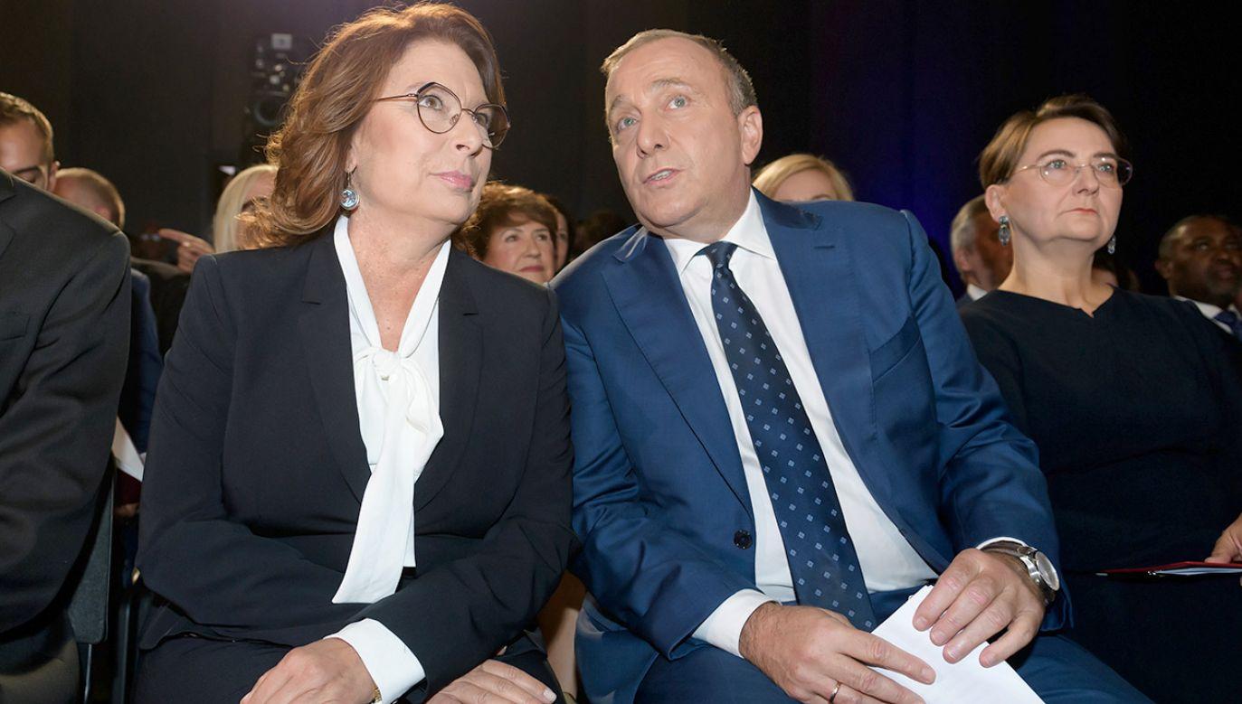 Obecna wicemarszałek Sejmu przyjęła na siebie rolę pełnienia kandydatki na premiera (fot. PAP/Jakub Kaczmarczyk)