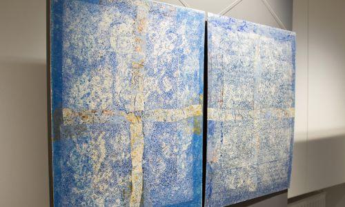 Głęboka wiara artysty przekłada się na tematykę prac. Fot. Muzeum Archidiecezji Warszawskiej
