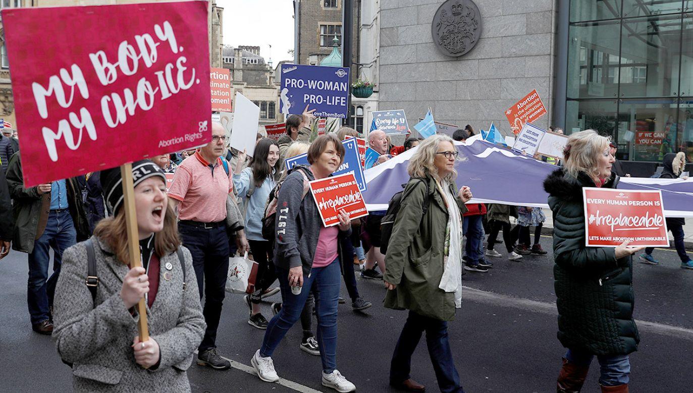 Do tej pory usunięcie ciąży w Irlandii Północnej było dozwolone w przypadkach – gdy istniało poważne zagrożenie dla życia lub zdrowia matki (fot. REUTERS/Peter Nicholls)
