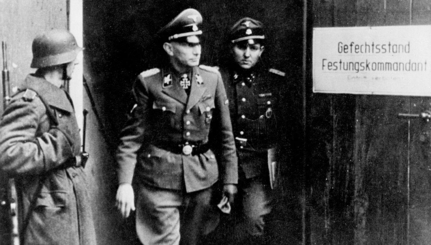 Heinz Reinefarth nigdy nie odpowiedział za masowe mordy popełnione przez podległe mu jednostki przez podczas tłumienia Powstania Warszawskiego (fot. ullstein bild via Getty Images)