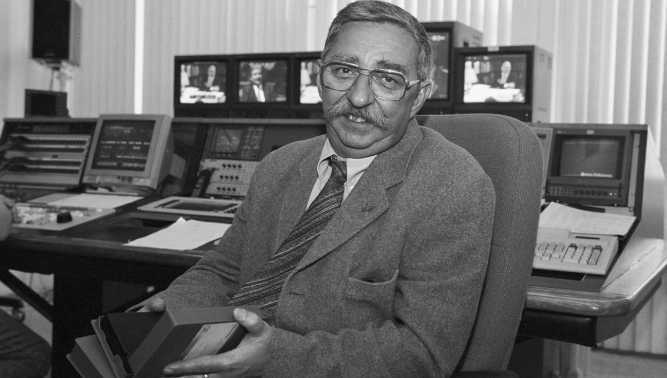 Dariusz Baliszewski miał 74 lata (fot. arch.TVP/PAP/Jan Bogacz)
