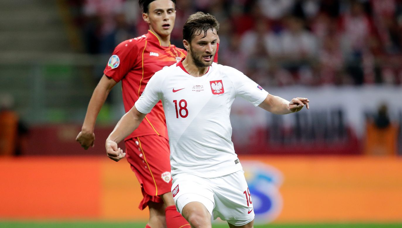 Bartosz Bereszyński to jeden z podstawowych piłkarzy reprezentacji Polski Jerzego Brzęczka (fot. Getty)