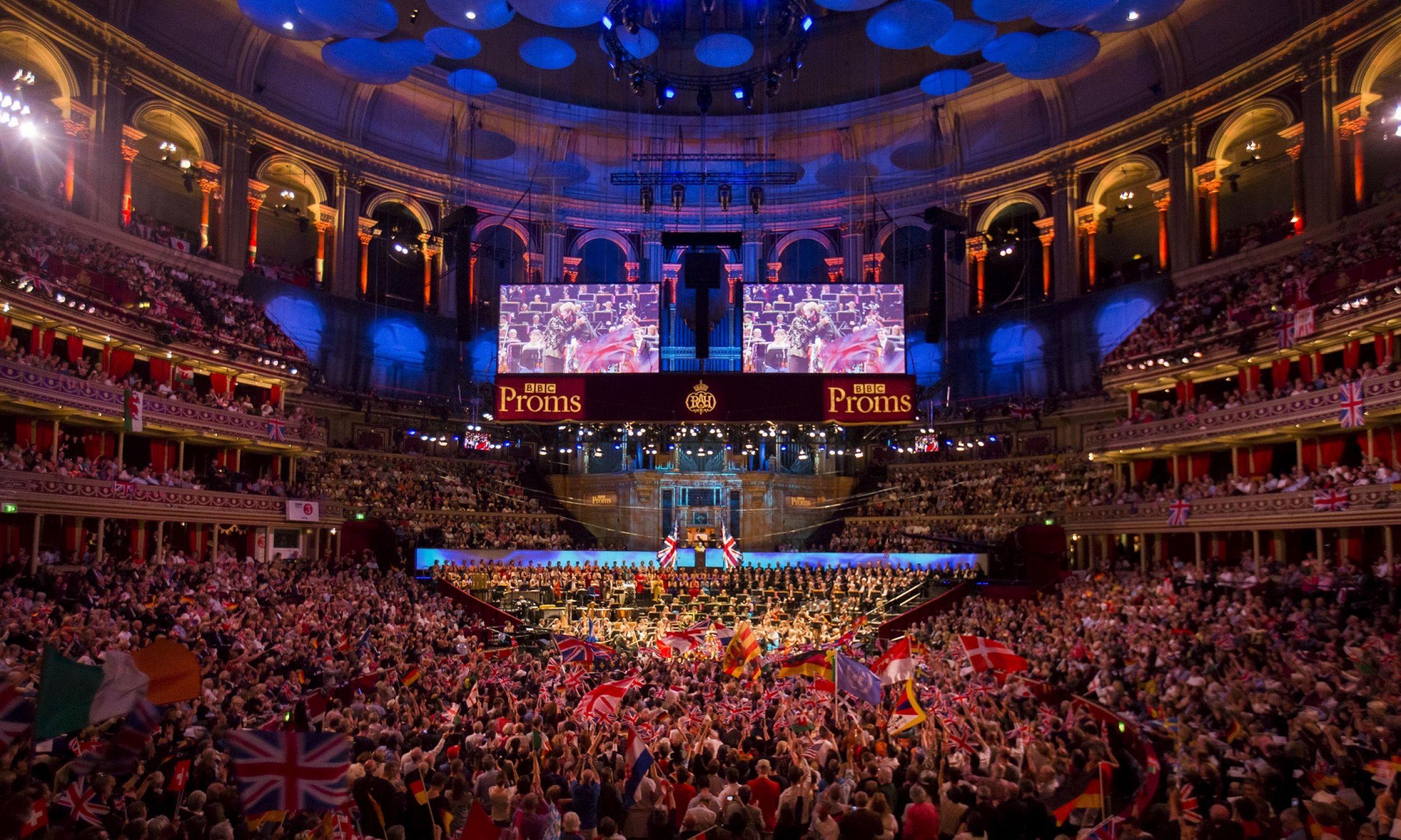 12 września 2015 roku. Koncert orkiestry BBC w londyńskiej Royal Albert Hall. Fot. REUTERS/Neil Hall