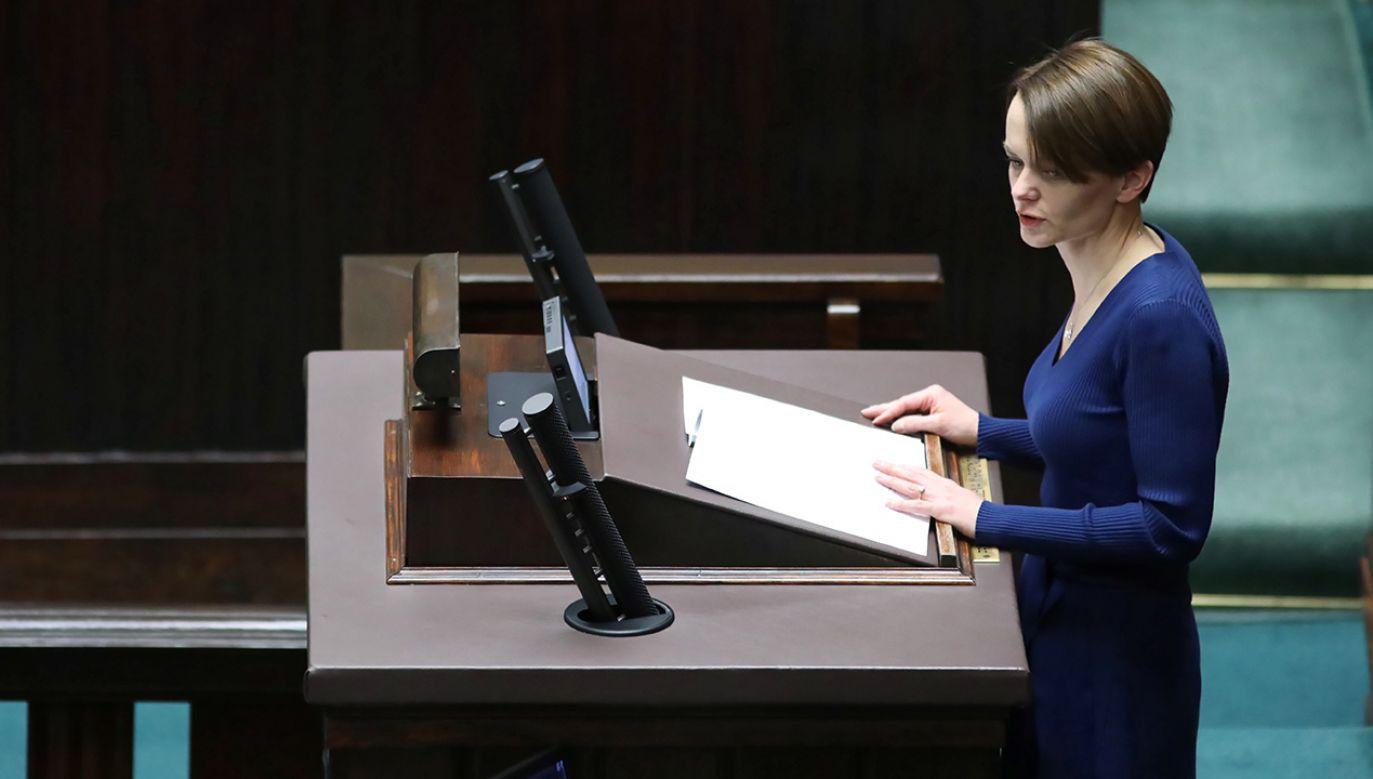 W Sejmie odbyło się czytanie projektów ustaw tzw. tarczy antykryzysowej (fot. PAP/Leszek Szymański)