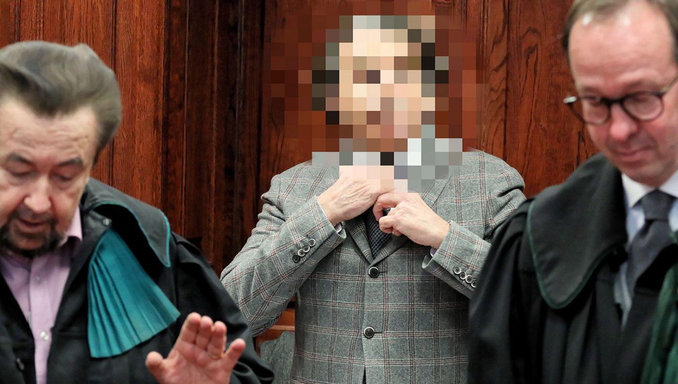 Oskarżony Maciej M. na sali Sądu Okręgowego w Warszawie (fot. arch.PAP/Paweł Supernak)