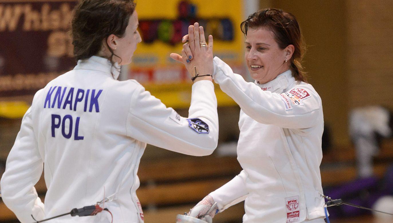 Danuta Dmowska-Andrzejuk to ostatnia, polska mistrzyni świata w szermierce. (fot. arch.PAP/Jakub Kaczmarczyk)