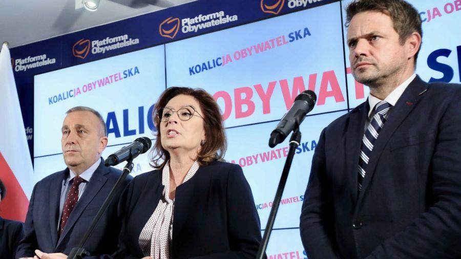 Rafał Trzaskowski jednogłośną decyzją zarządu PO został nowym kandydatem partii na prezydenta (fot. arch.PAP/Leszek Szymański)