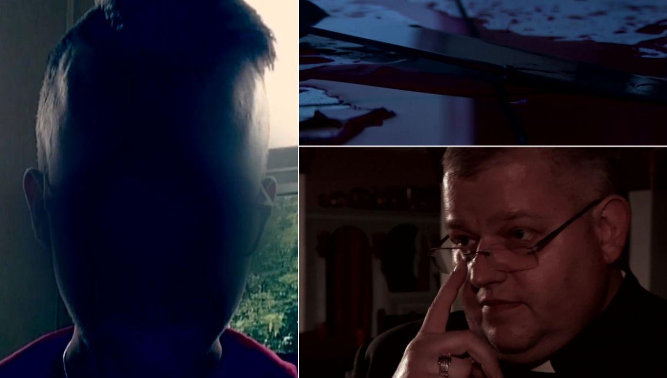Eryk. G. przyznał się do winy (fot. TVP1/FB/Eryk. G.)