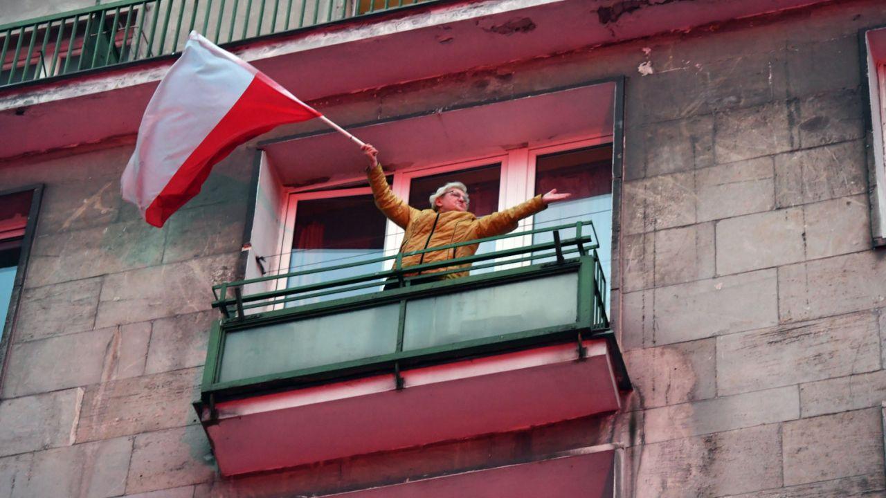 Obchody Święta Niepodległości (fot. PAP/Bartłomiej Zborowski)
