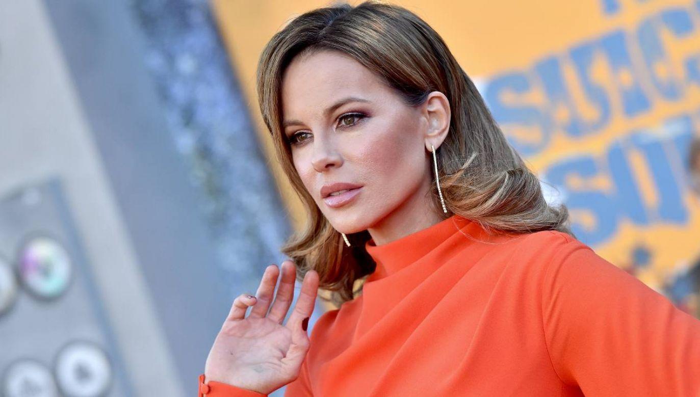 Kate Beckinsale doznała kontuzji nakładając legginsy (fot. Getty Images/Axelle/Bauer-Griffin/FilmMagic)