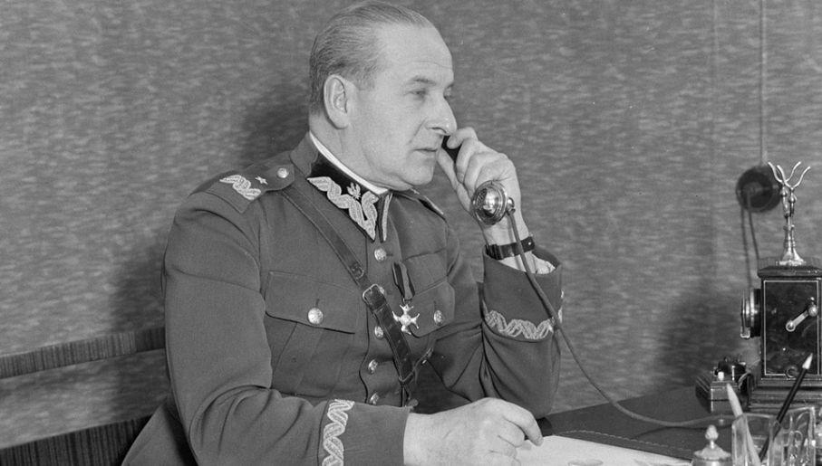 Wieniawa był wyznaczony do objęcia urzędu Prezydenta RP (fot. Wiki/Dutch National Archives)