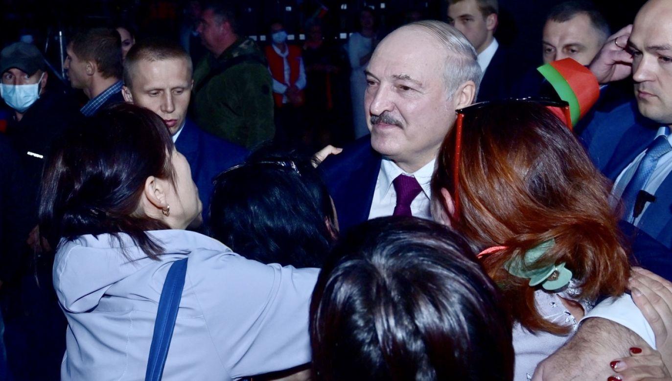 Alaksandr Łukaszenka objął funkcję prezydenta Białorusi (fot. PAP/EPA/ANDREI STASEVICH/BELTA/POOL)