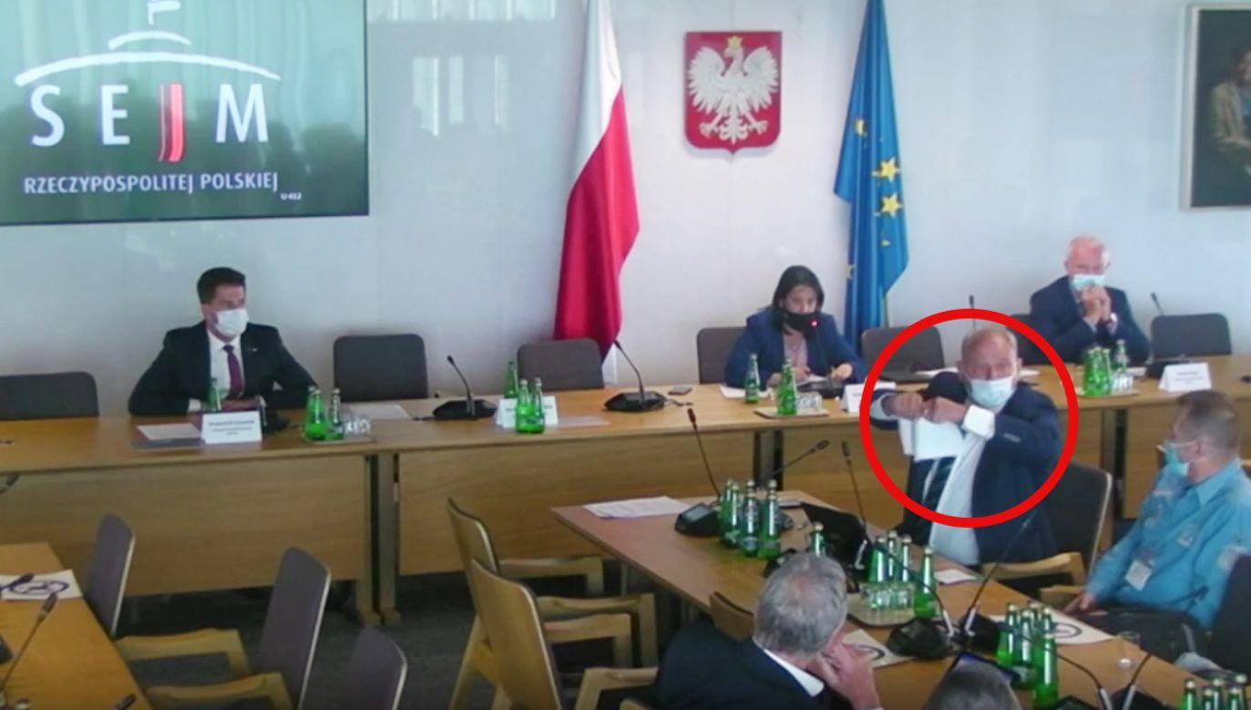Wiceprzewodnicząca komisji Anita Czerwińska (PiS) nie wierzyła własnym oczom (fot. Sejm RP)