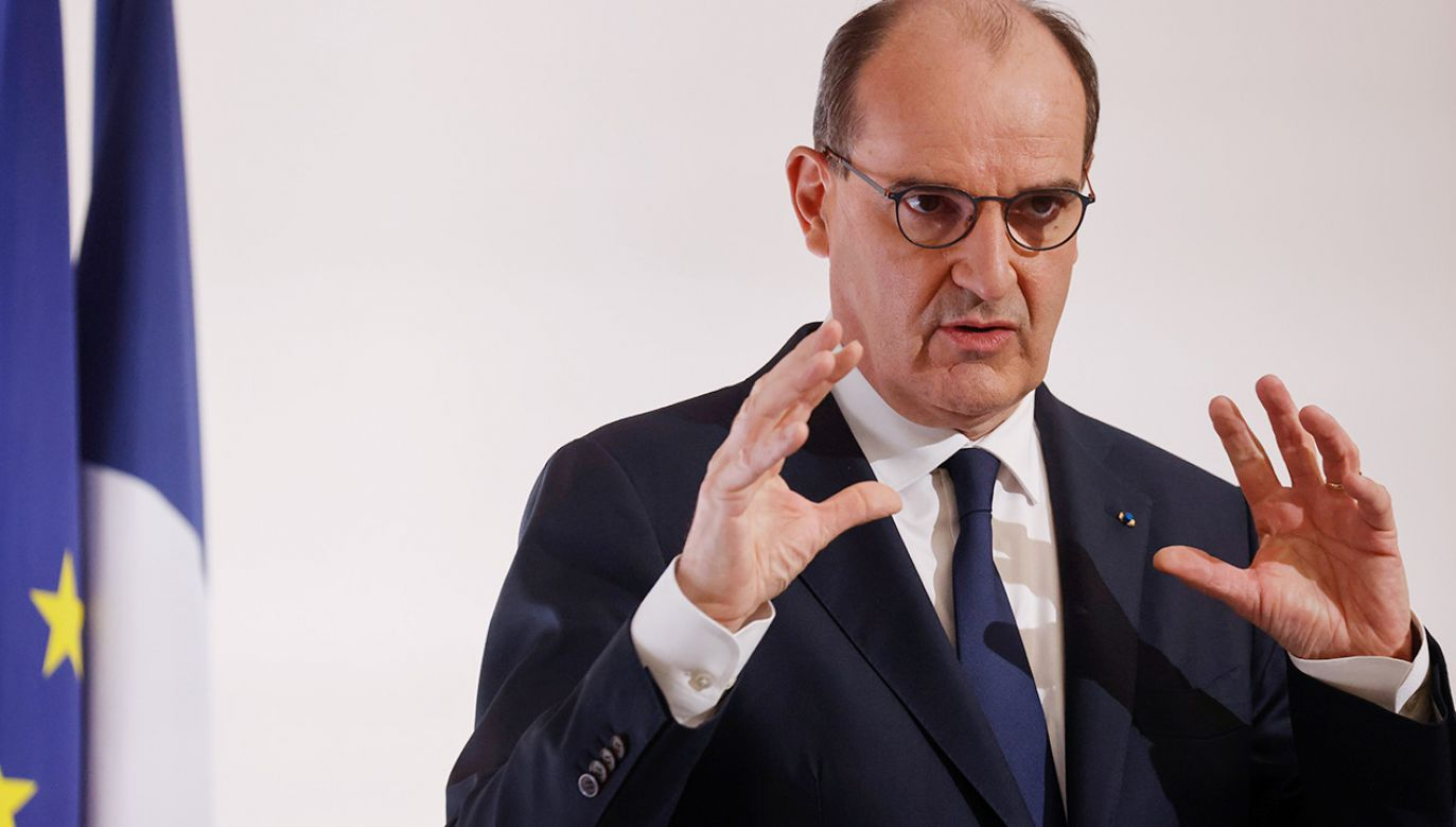 Przedsiębiorcy wysłali premierowi Francji majtki (fot. PAP/EPA/LUDOVIC MARIN / POOL)