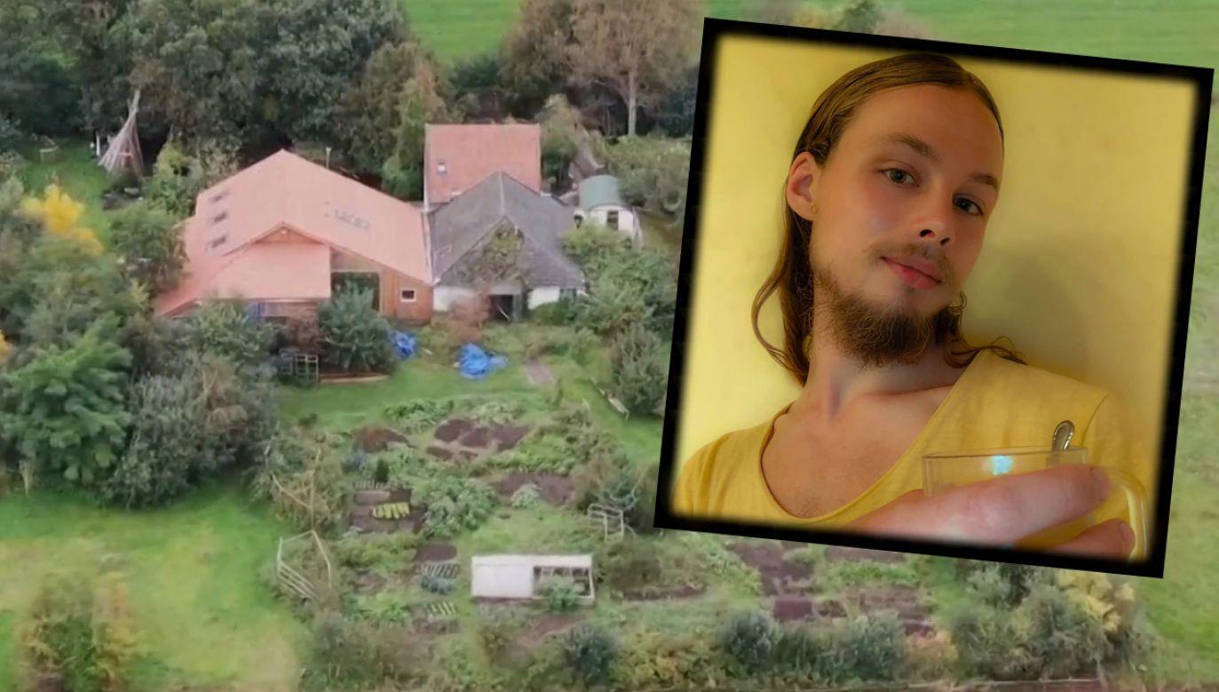 Jan Zon van Dorsten, jego ojciec i rodzeństwo byli zamknięci w ukrytym pokoju w domu na farmie (fot. TVP info/FB/Jan Zon van Dorsten)
