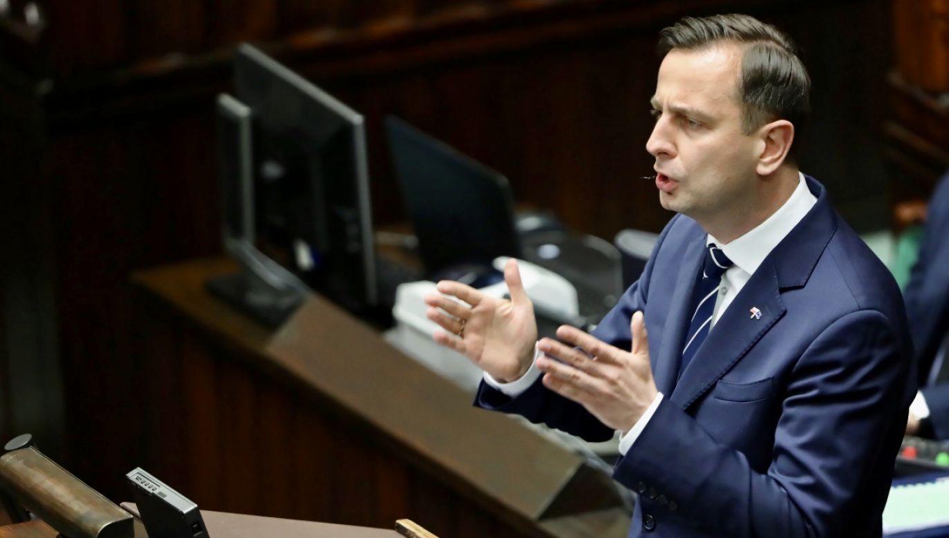 – Dawno było, ale pamiętam – stwierdził Władysław Kosiniak-Kamysz (fot. PAP/Wojciech Olkuśnik)