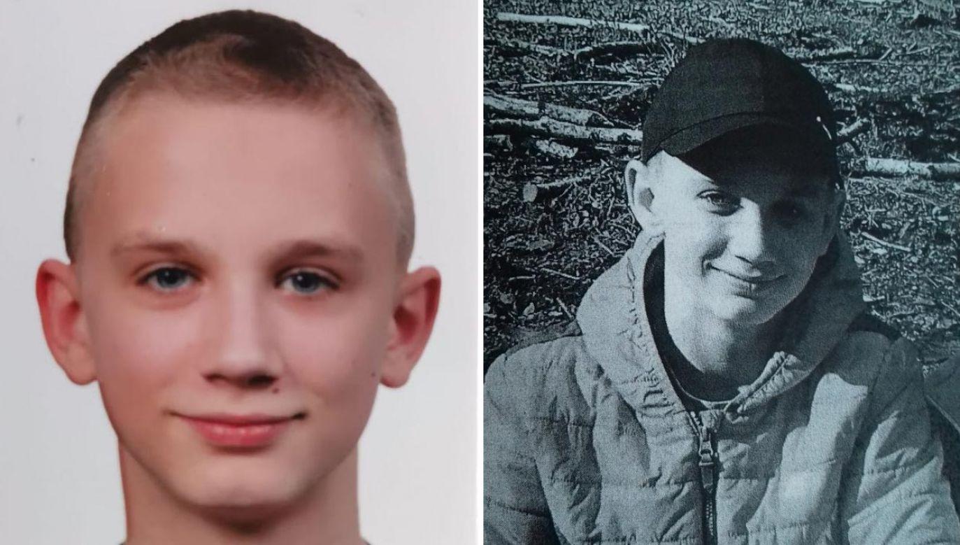 Policjanci poszukują 12-letniego Przemysława Zobka (fot. Policja)