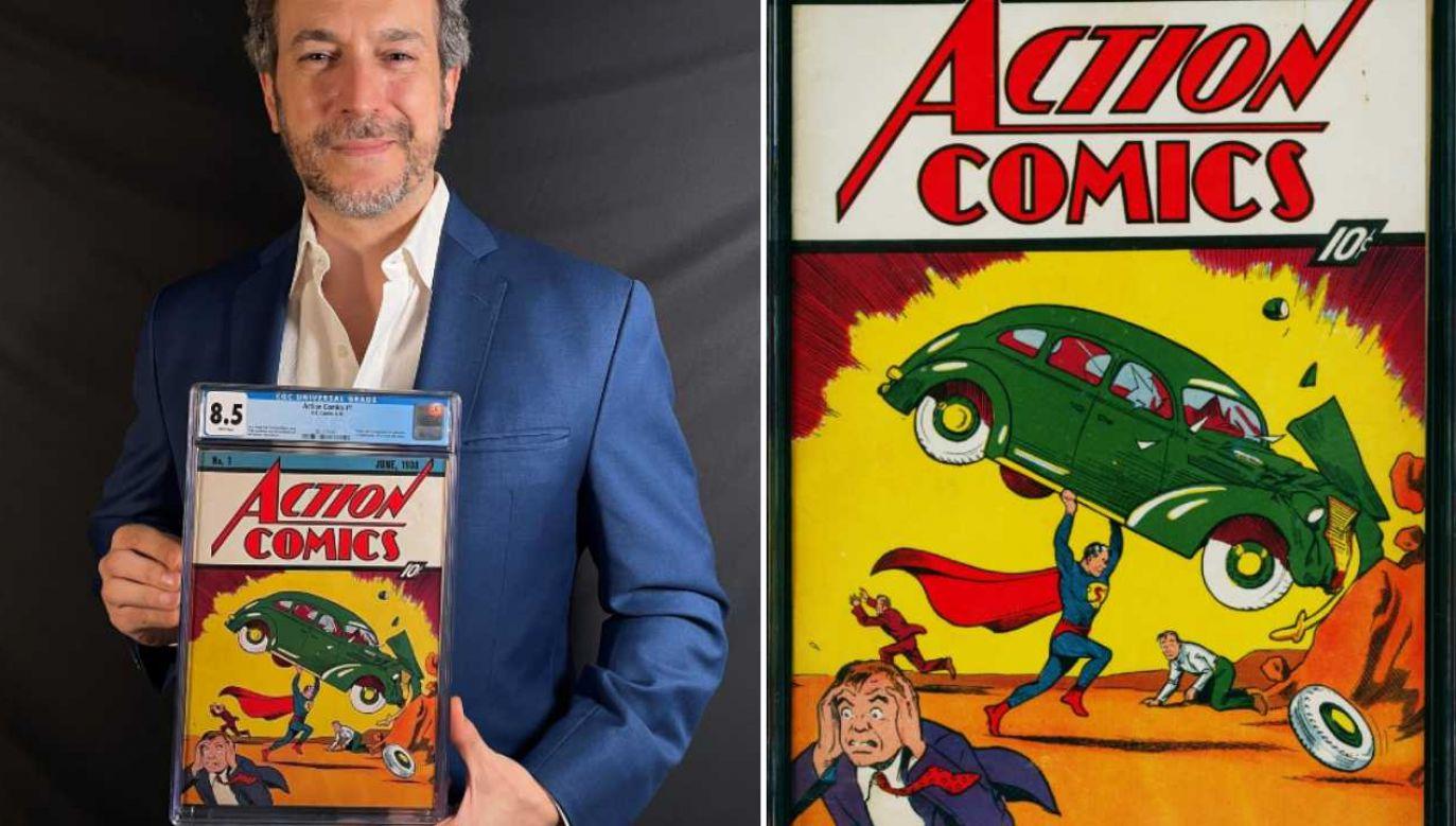Wyjątkowy komiks pobił rekord (fot. Comic Connect/mat.pras.)