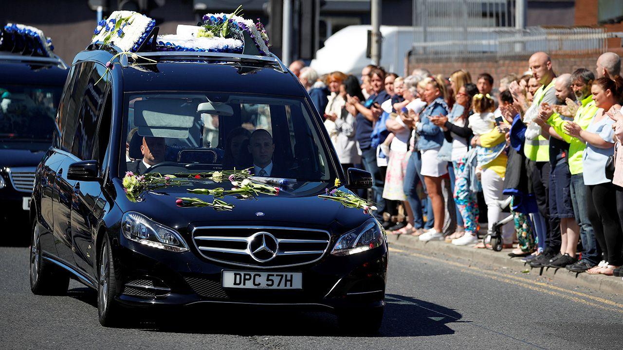 Pogrzeb Alfiego Evansa (fot. REUTERS/Phil Noble)