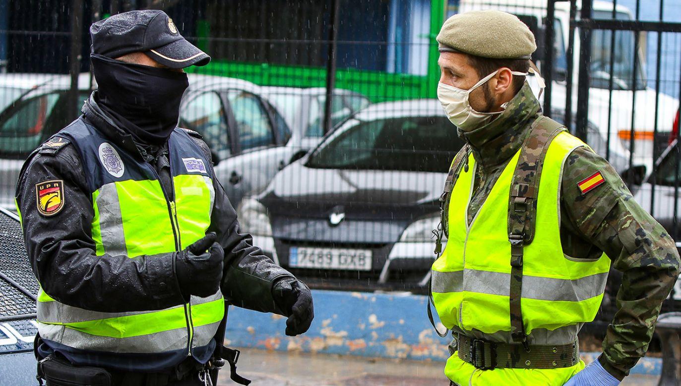 Oficjalna liczba zakażonych w Hiszpanii wynosi 64 tys. przypadków (fot. Press News/Europa Press via Getty Images)