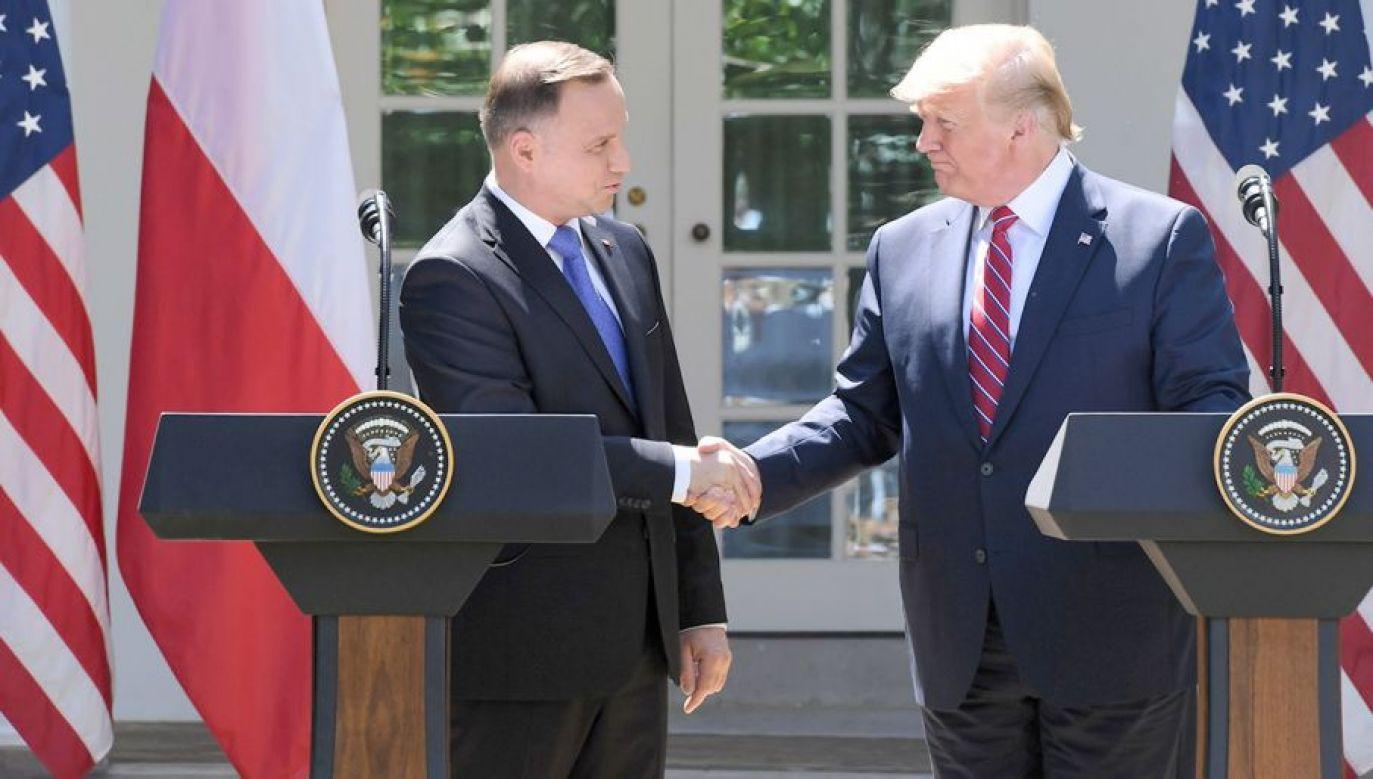 Prezydent Stanów Zjednoczonych przyleci do Polski 31 sierpnia wieczorem (fot. PAP/Radek Pietruszka)